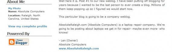 10 Years of Blogging on Absoluteraleigh.com