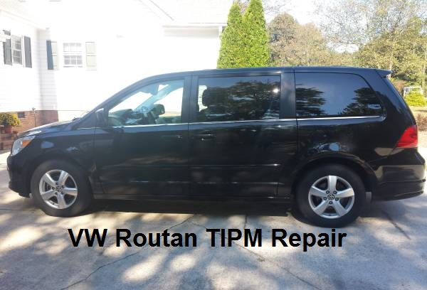 volkswagon routan tipm repair